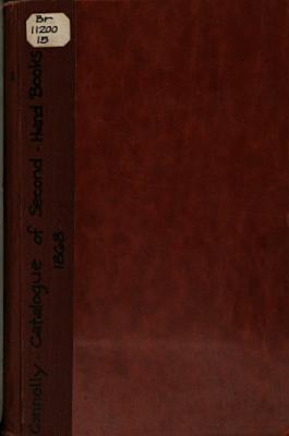 Catalogue of Second hand Books PDF