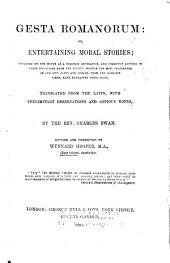 Gesta Romanorum: Or, Entertaining Moral Stories