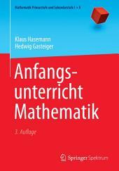 Anfangsunterricht Mathematik: Ausgabe 3