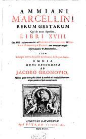 Ammiani Marcellini quae supersunt