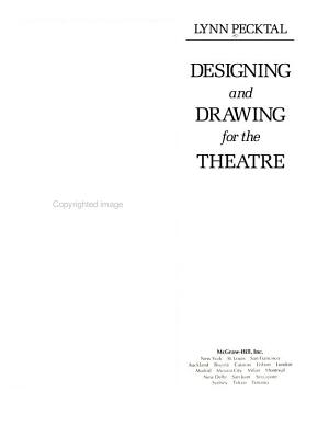 Designing and Drawing for the Theatre