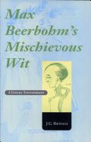 Max Beerbohm s Mischievous Wit PDF