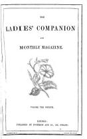 The Ladies  Companion and Monthly Magazine PDF