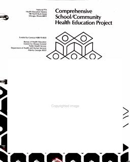 Comprehensive School Community Health Education Project Book