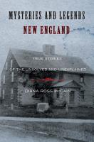 Mysteries and Legends of New England PDF