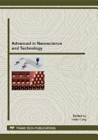 Advanced in Nanoscience and Technology PDF
