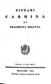 Carmina et fragmenta selecta