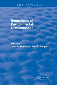 Biomarkers of Environmental Contamination