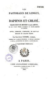 Les pastorales de Longus, ou Daphnis et Chloé