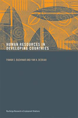 Human Resource Management in Developing Countries PDF