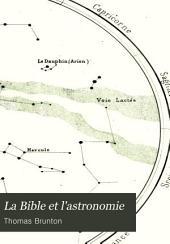 La Bible et l'astronomie