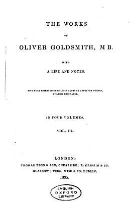 The Works of Oliver Goldsmith  M B PDF