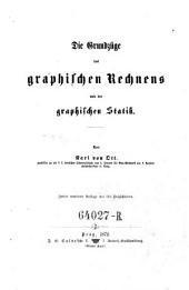 Die Grundzüge des graphischen Rechnens und der graphischen Statik, 2,Aufl
