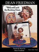 Dean Friedman s Well  Well  Said the Rocking Chair   Songbook PDF