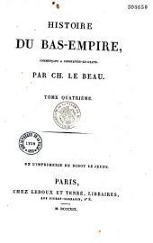 Histoire du Bas-Empire...