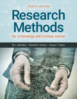 Research Methods for Criminology and Criminal Justice PDF