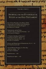 Journal for the Evangelical Study of the Old Testament, 1.1