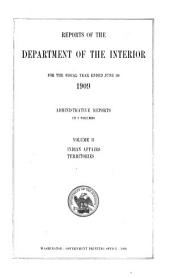 Reports of the Department of the Interior: Volume 2