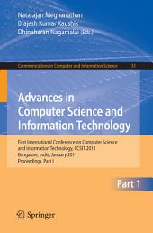Advances in Computer Science and Information Technology: First International Conference on Computer Science and Information Technology, CCSIT 2011, Bangalore, India, January 2-4, 2011. Proceedings, Part 1