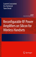 Reconfigurable RF Power Amplifiers on Silicon for Wireless Handsets PDF