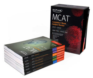 MCAT Complete 7 Book Subject Review 2021 2022 Book