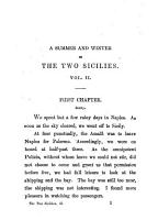 A Summer and Winter in the Two Sicilies by Julia Kavanagh PDF