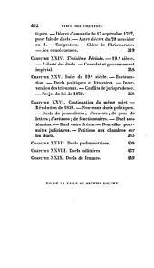 Histoire des duels anciens et modernes: Volume1