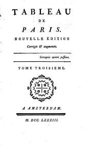 Tableau de Paris: Volumes3à4