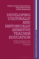 Developing Culturally and Historically Sensitive Teacher Education