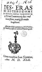 De duplici copia verborum ac rerum ...