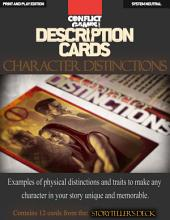 "Description Cards - Storytellers Deck - Character Distinctions excerpt - (Creative Inspiration for Writers, Storytellers and GMs).: Contains 12 Cards from the ""Description Cards - Storytellers Deck"""