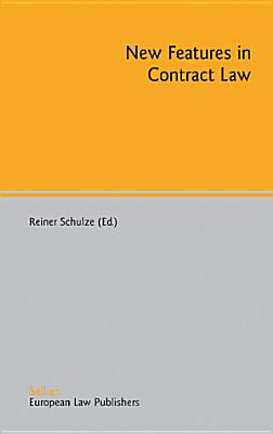 New Features in Contract Law PDF