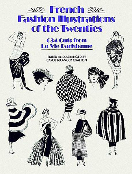 Download French Fashion Illustrations of the Twenties Book