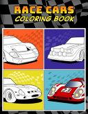 Race Cars Coloring Book PDF