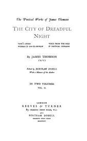 The City of Dreadful Night: Volume 2
