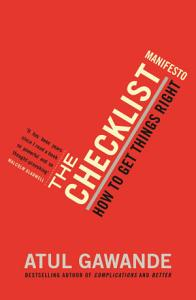 The Checklist Manifesto Book