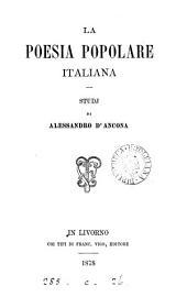 La poesia popolare italiana