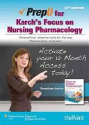 Rupert Lippincott s NCLEX RN Alternate Format Questions  Fifth Edition   PrepU for Karch s Focus on Nursing Pharmacology  Sixth Edition PDF