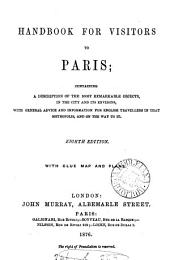 A handbook for visitors to Paris. [1st]-6th, 8th [9th] ed