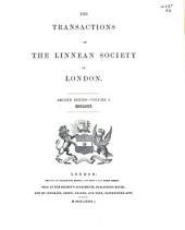 Transactions: Zoology. 2d ser