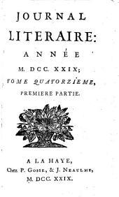Journal littéraire: Volume14