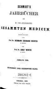 Jahrbücher der in- und ausländischen gesammten Medizin: Band 107