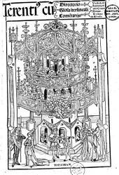 Comoediae. Comment. Donatus, G. Juvenalis, J. Badius