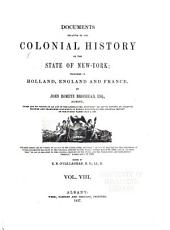 Documents Relating to the Colonial History of the State of New York