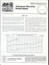 Current Business Reports: Advance monthly retail sales. CB, Volume 3