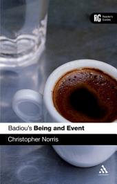 Badiou's 'Being and Event': A Reader's Guide