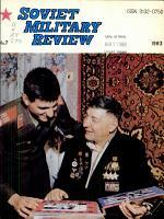 Soviet Military Review PDF