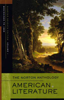 The Norton Anthology of American Literature Book