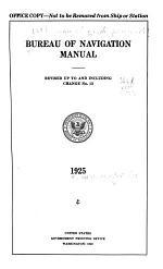 Bureau of Navigation Manual