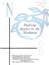 Packing Apples in the Northeast PDF
